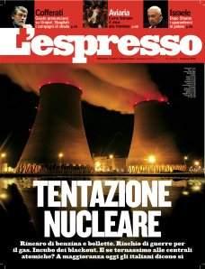 espresso tentazione nucleare sorpasso atomico
